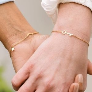 MARINA DE BUCHI Moon Stars Bracelet Gold Plated